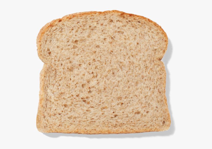 Graham Bread Toast Rye Bread White Bread Sliced Bread - Slice Of White Bread Png, Transparent Clipart