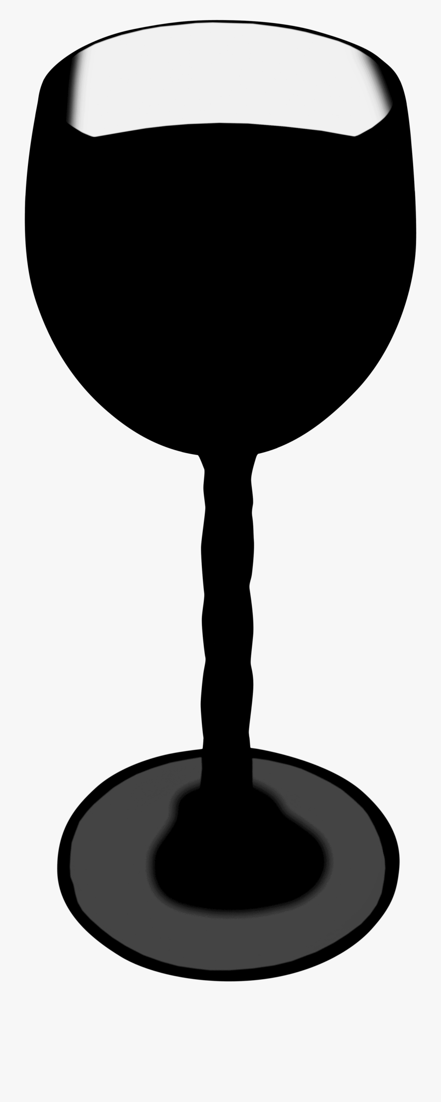 Glass Silhouette, Transparent Clipart
