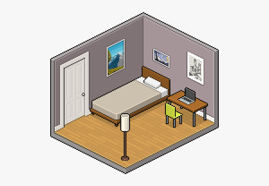transparent empty room clipart isometric pixel art room free transparent clipart clipartkey isometric pixel art room free