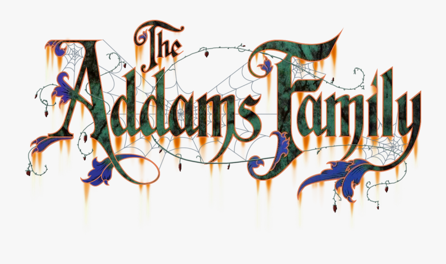 Addams Family Logo Addams Family Movie Title Free Transparent Clipart Clipartkey
