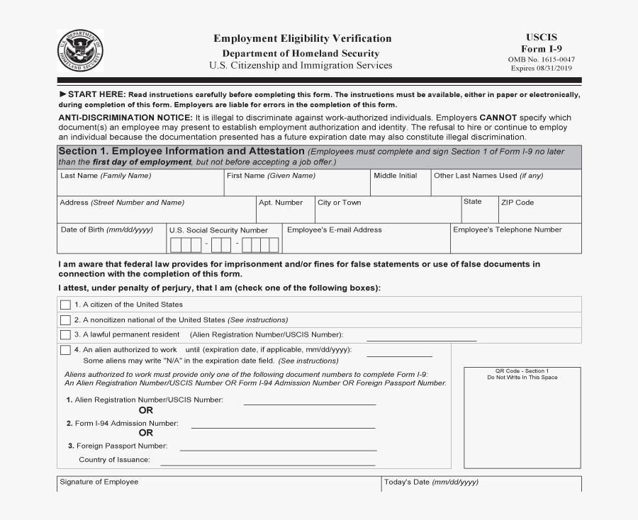 free printable i-9 form  I-7 Verification - Blank Printable I7 Form , Free ...