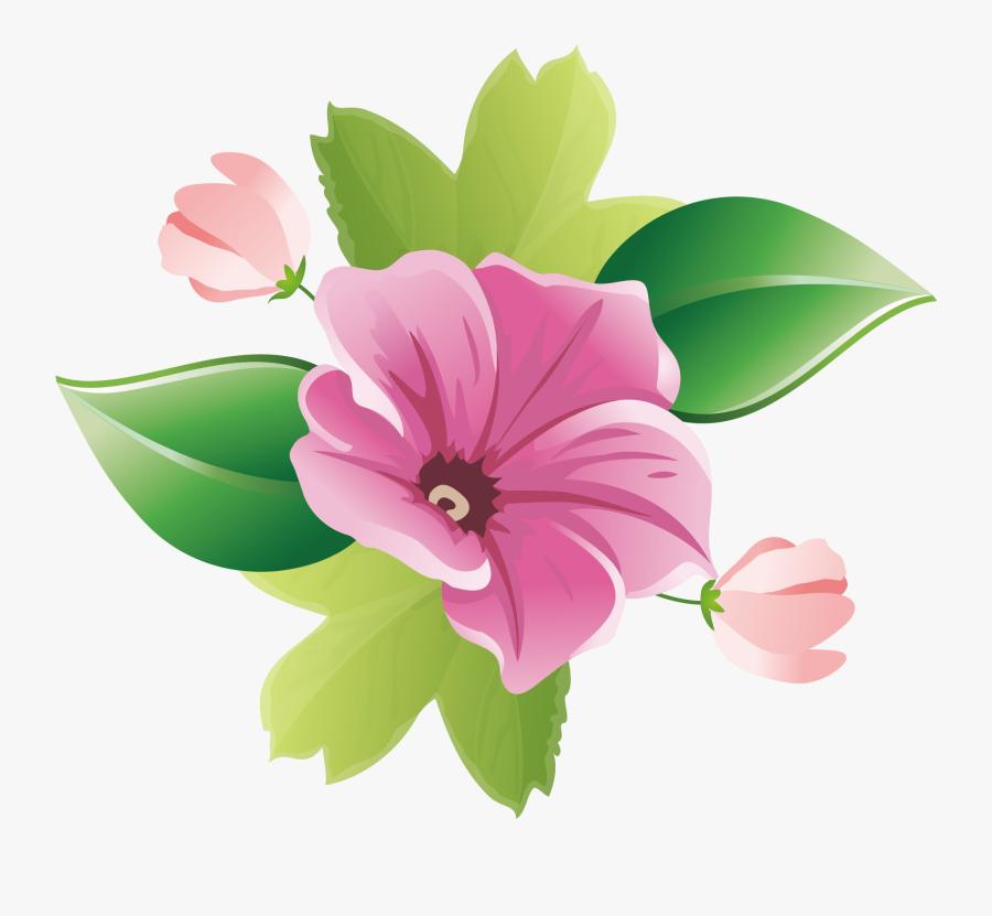 Garland Clipart Greenery - Floral Design, Transparent Clipart