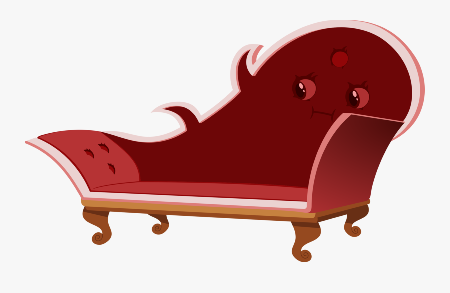 Fainting Couch Png Free Download - Couch Mimic, Transparent Clipart