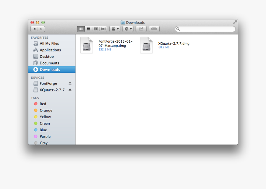 Clip Art Fontforge On Os X - Mac Os X Lion Finder, Transparent Clipart