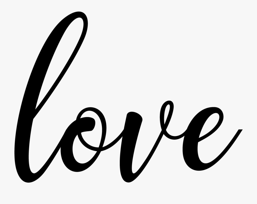 I Used A Fabulous Calligraphy Font And Just Made A - Love Calligraphy Font Png, Transparent Clipart