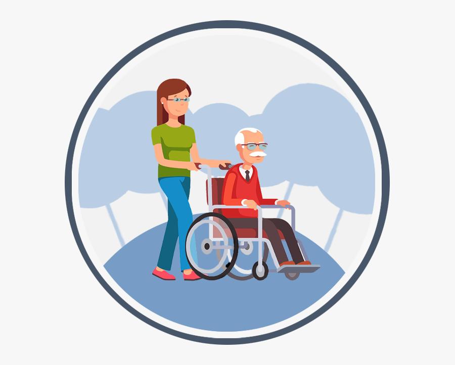 Caregiving Clip Art - Care Giving Icon Png, Transparent Clipart