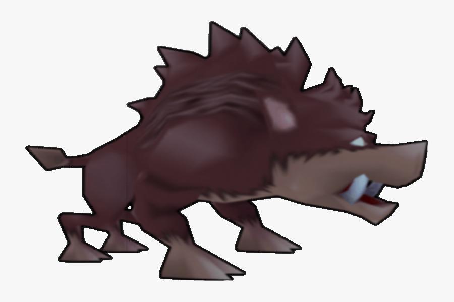 Bandipedia - Crash Bandicoot Wild Boar, Transparent Clipart