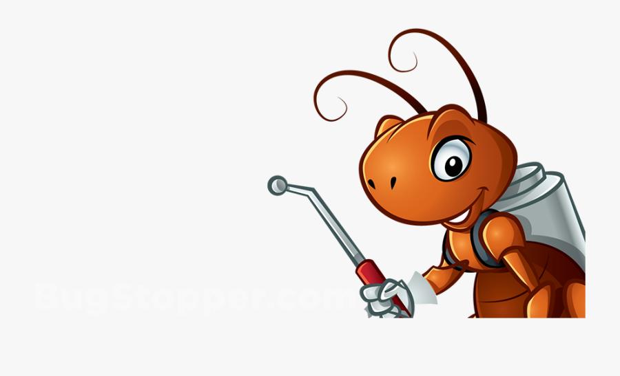 Transparent Termite Clipart - Animated Fumigation Pest Control, Transparent Clipart