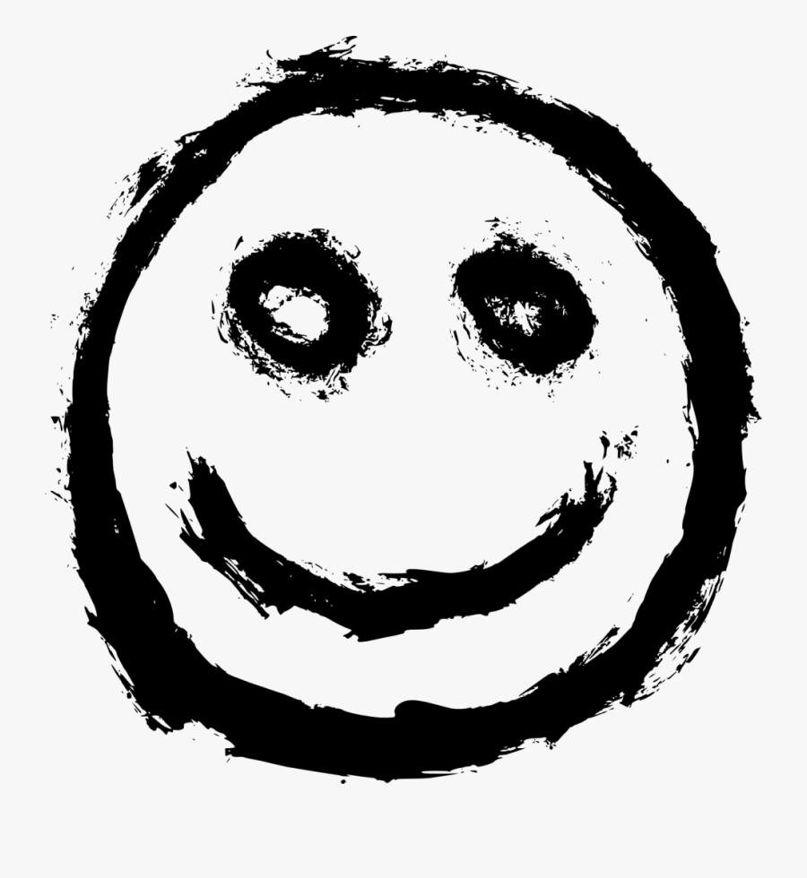 Face,facial Art,circle,smiley,no Expression,black And - Smiley, Transparent Clipart