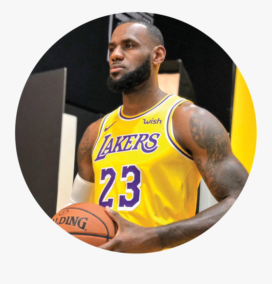 Lakers Media Day 2018 Lebron James Png Lakers Free Transparent Clipart Clipartkey