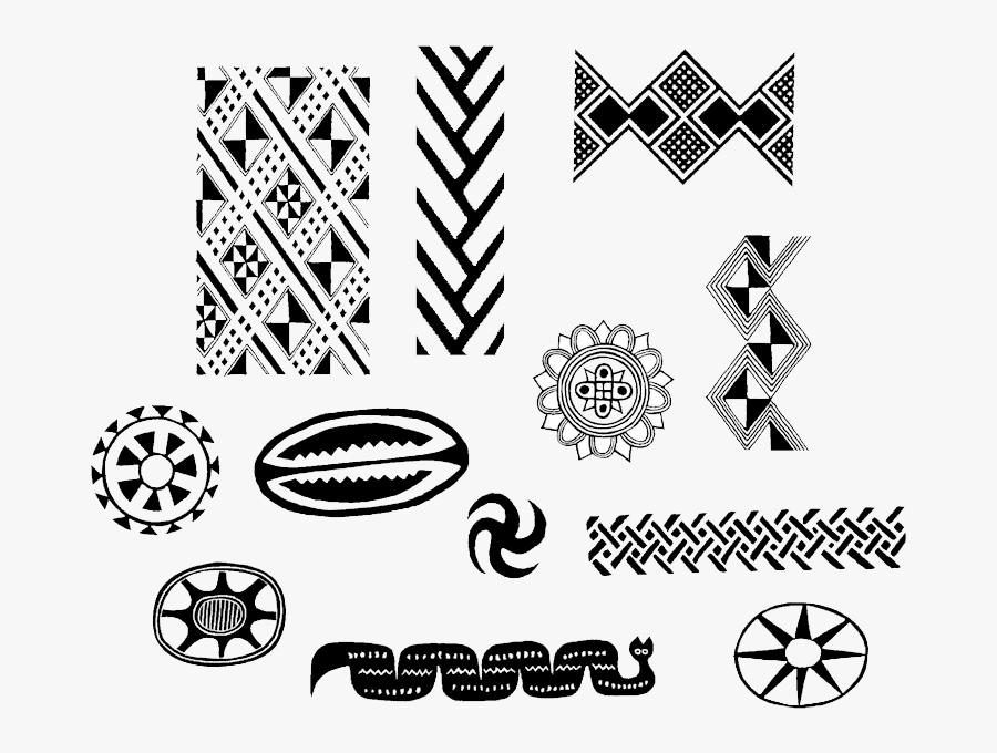 Native American Border Designs - Native American Designs, Transparent Clipart
