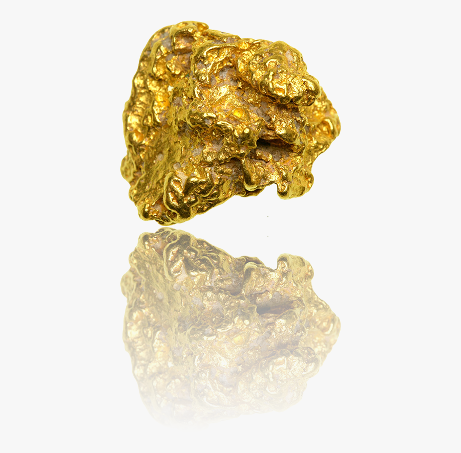 Gold Nugget - Gold Rush Gold Nugget, Transparent Clipart