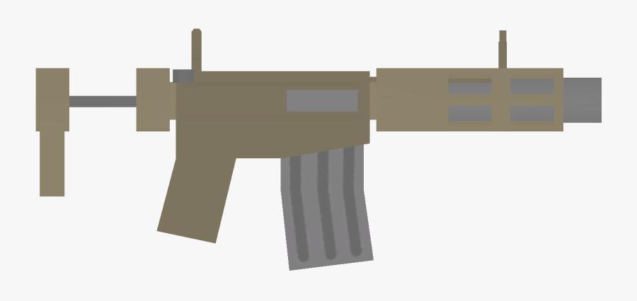 Unturned Honey Badger - Assault Rifle, Transparent Clipart