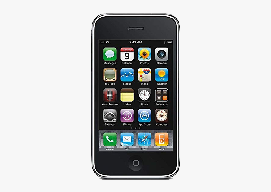Cells Clipart Smart Phone - Iphone 3g, Transparent Clipart