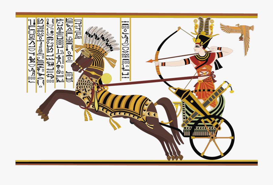 Art Of Egyptian Hieroglyphs - Ancient Egypt Art Vector, Transparent Clipart