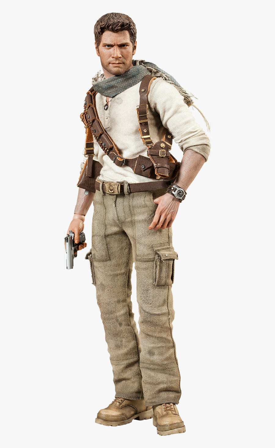 Download Nathan Drake Png Photos - Action Figure Uncharted 4, Transparent Clipart