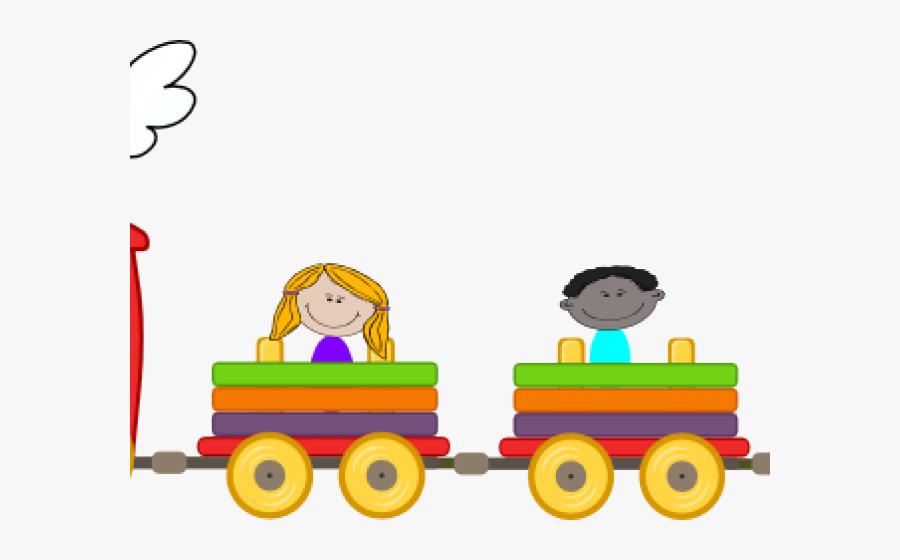 Long Clipart Child Train - Choo Choo Train Png, Transparent Clipart