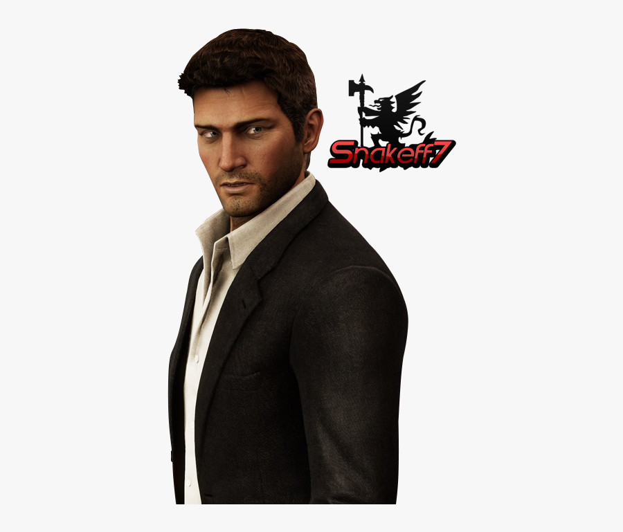 Download Nathan Drake Png Hd - Nathan Drake Uncharted 3 Suit, Transparent Clipart