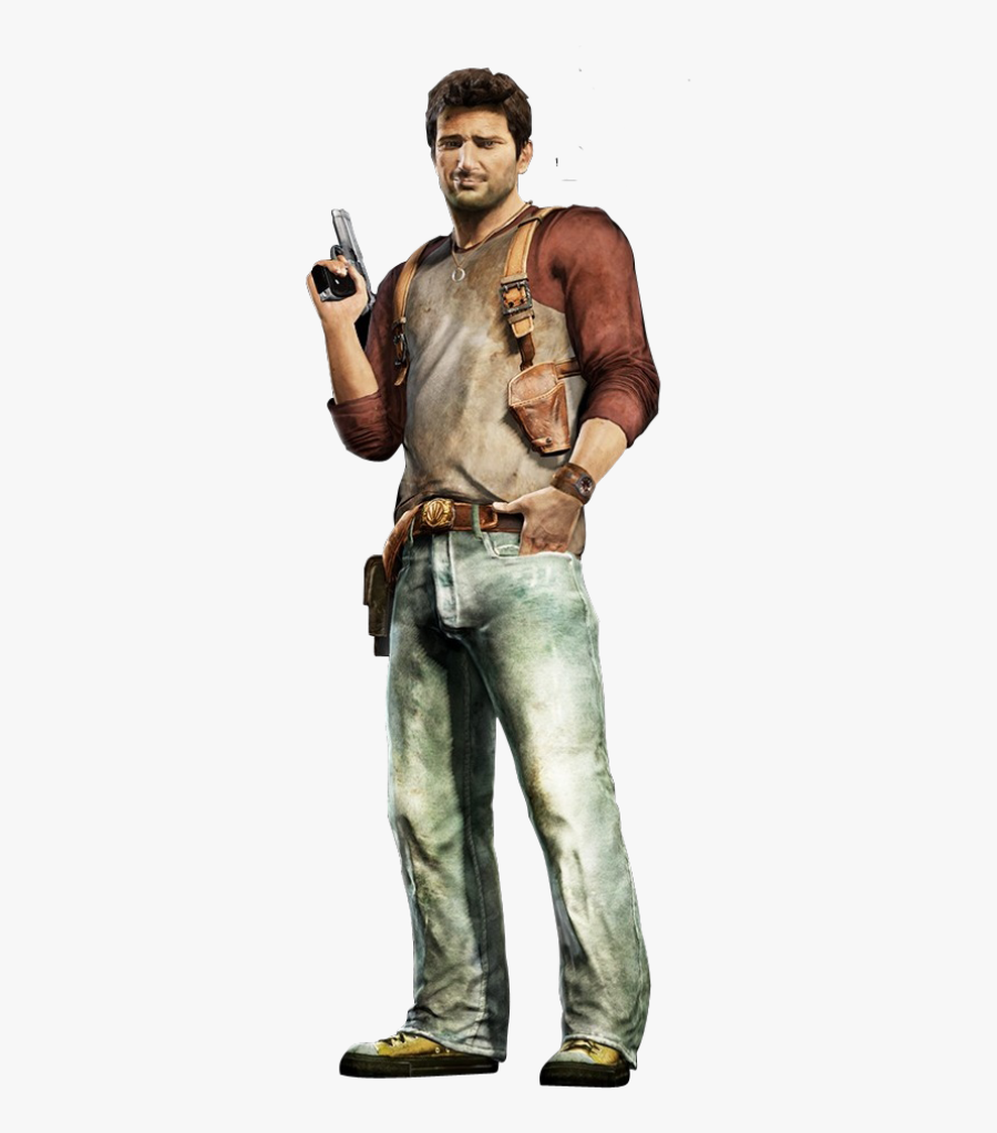 Uncharted 2 Nathan Drake Holster, Transparent Clipart