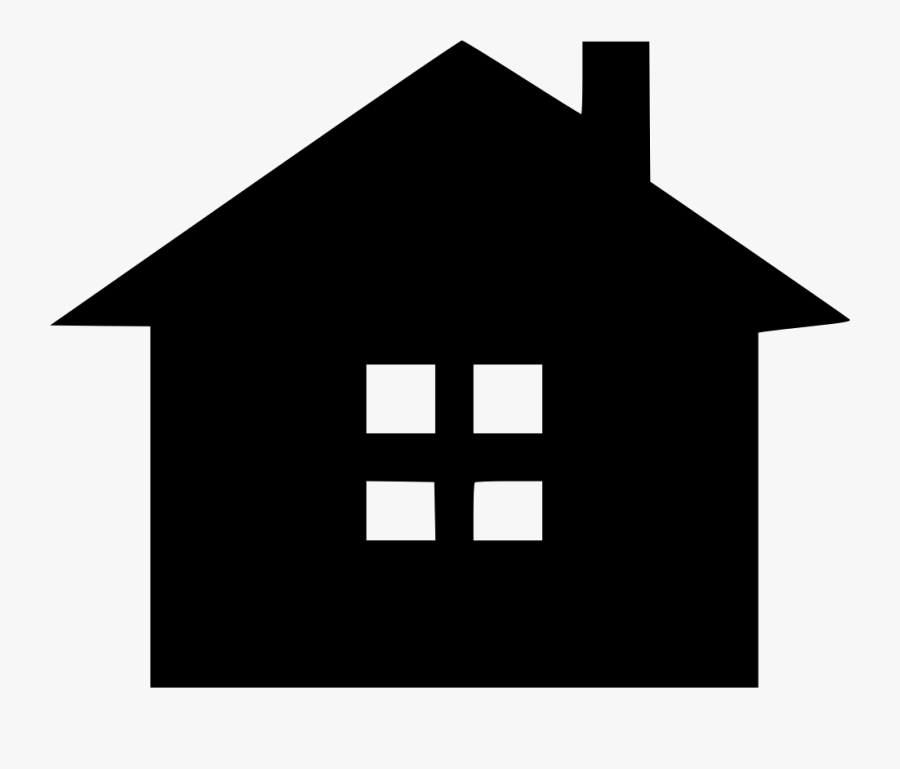 Cottage Icon Free Download Png Cottage Svg - House Icon Cartoon, Transparent Clipart