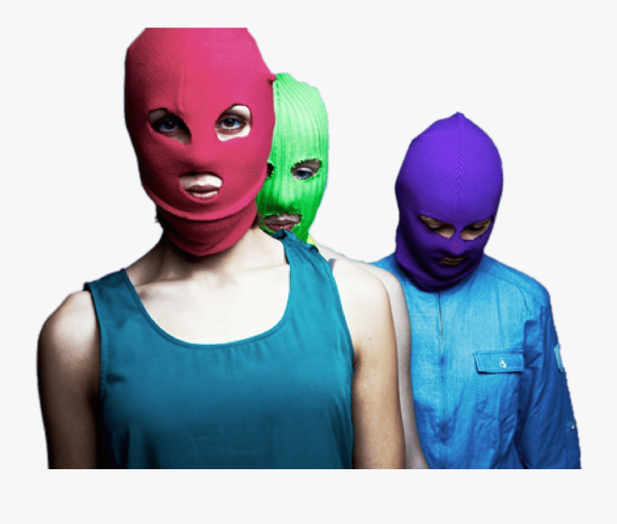 Pussy Riot Members - Mascara Pussy Riot, Transparent Clipart