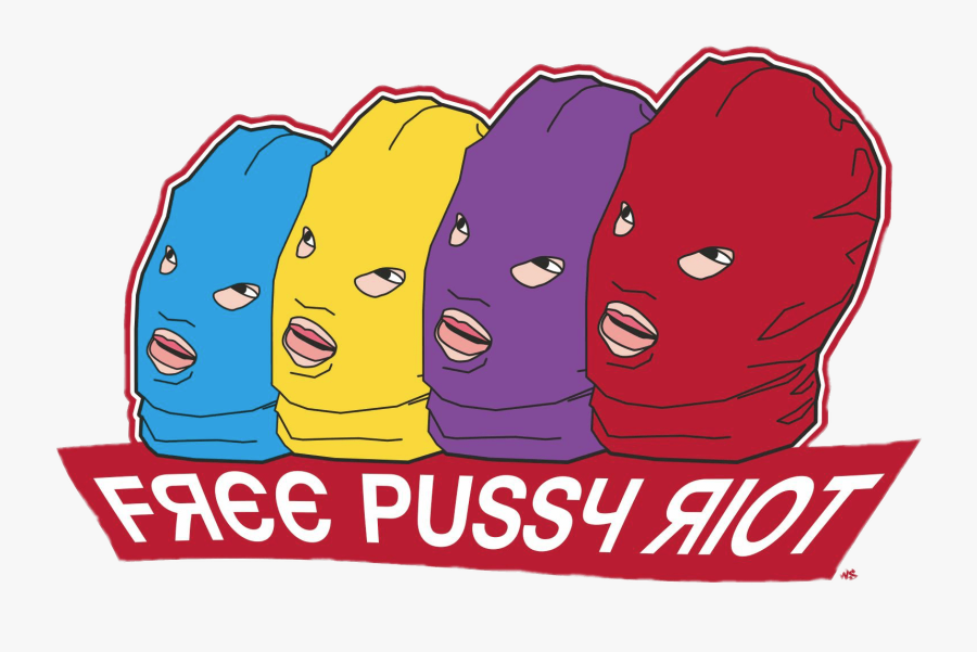 Free Pussy Riot - Pussy Riot Png, Transparent Clipart