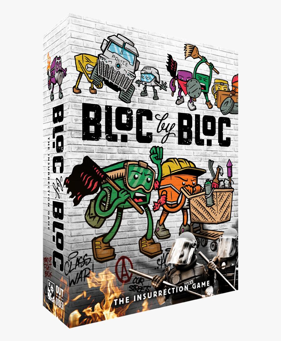 Cop Clipart Riot - Bloc By Bloc The Insurrection Game, Transparent Clipart