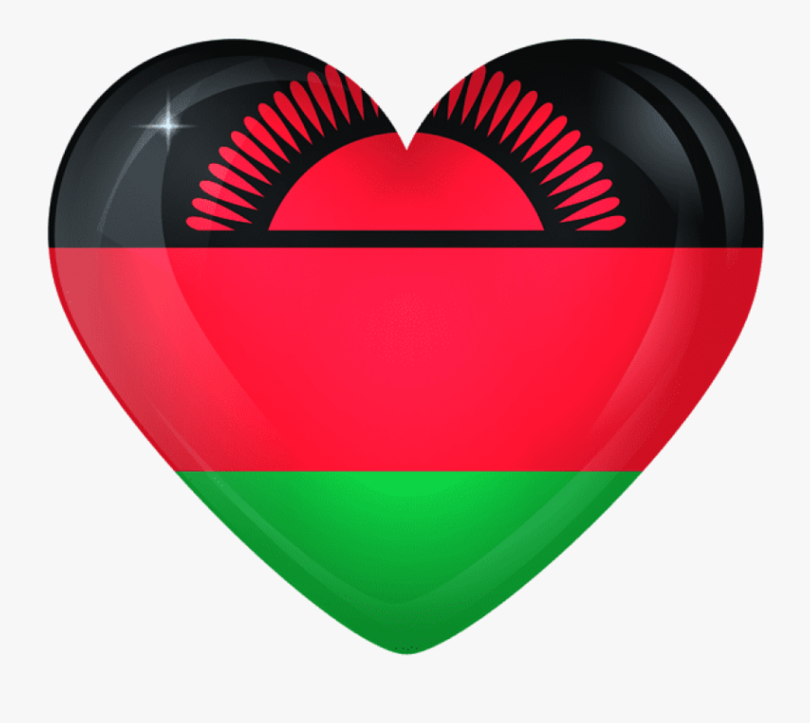 Download Malawi Large Heart Flag Clipart Png Photo - Malawi Flag Circle, Transparent Clipart