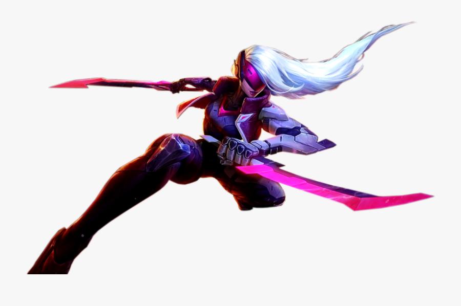 League Of Legends Rendering Riot Games Desktop Wallpaper - Project Katarina Png, Transparent Clipart