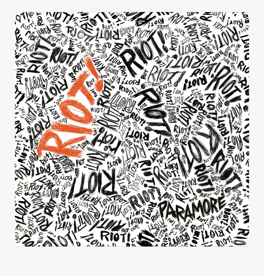 #paramore #riot#freetoedit - Paramore Riot Album Hd, Transparent Clipart