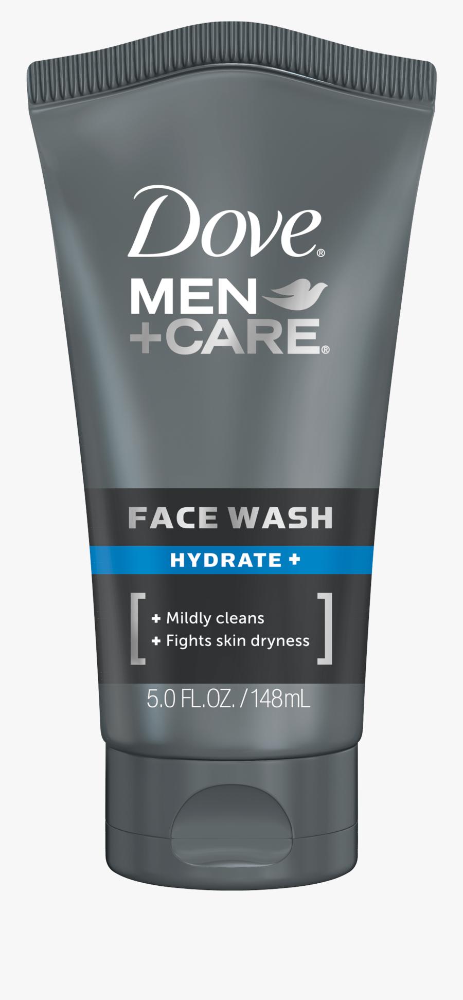 Men Care Sensitive Face - Dove Men Facial Wash, Transparent Clipart