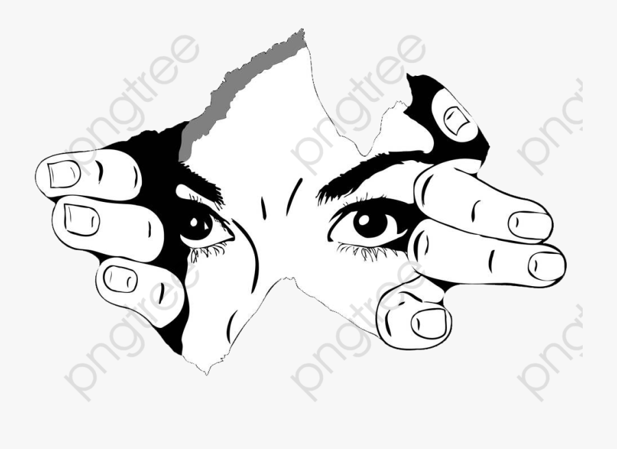 Black And White Eyes Illustrations Eyes Clipart Ripped