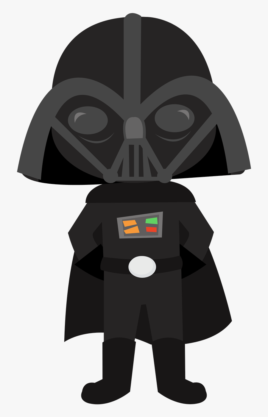 Star Ears Darth Vader Star Wars Clipart - Star Wars Clipart Png, Transparent Clipart