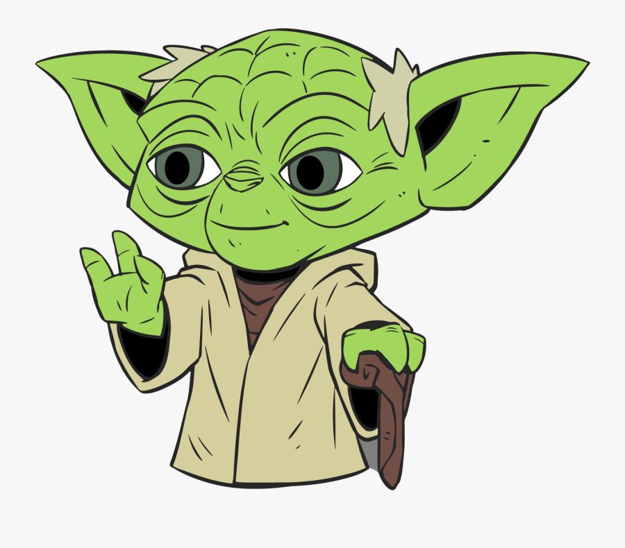 Yoda Star Wars Clipart, Transparent Clipart