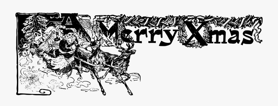 Art,monochrome Photography,text - Christian Christmas Banner Free, Transparent Clipart