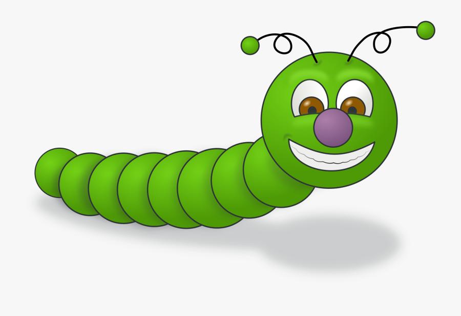 Green Worm - Worm Clip Art, Transparent Clipart