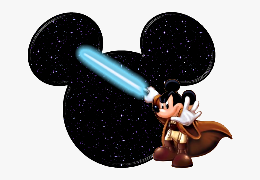 Mickey Mouse Icons Clipart - Star Wars Mickey Head, Transparent Clipart