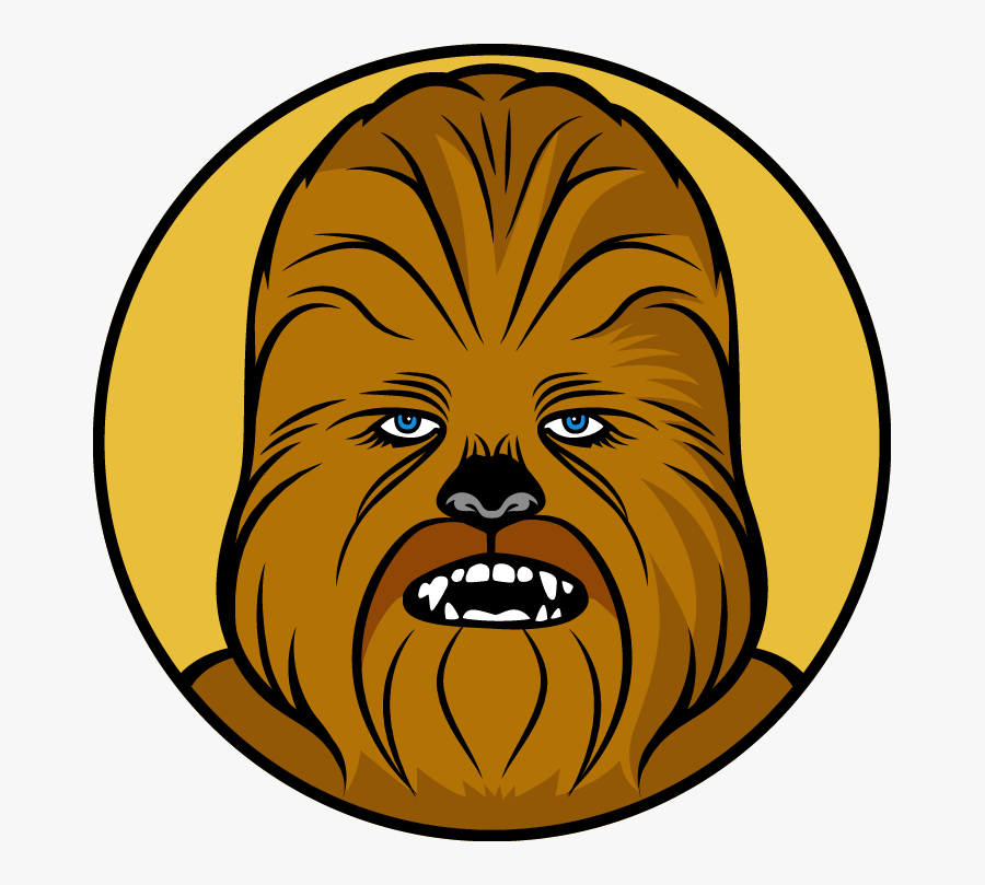 Star Wars Chewbacca Clipart, Transparent Clipart