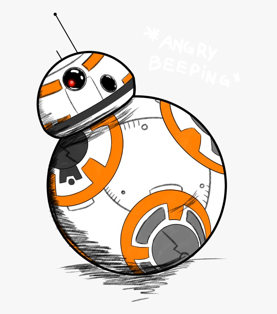 Bb 8 Drawing Star Wars Clip Art Bb8 Drawing Free