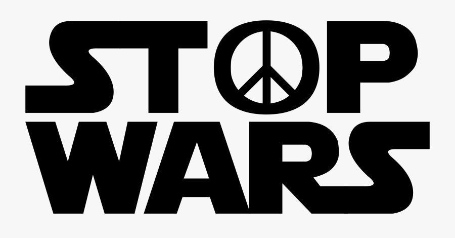 Area,text,brand - Star Wars Logo Stop Wars Png, Transparent Clipart