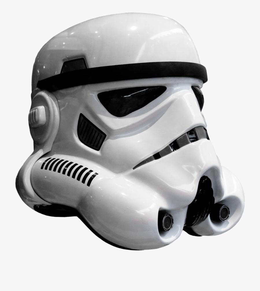 Free Photo Star Wars Storm Trooper Film Free Image - Storm Trooper Helmet Png, Transparent Clipart