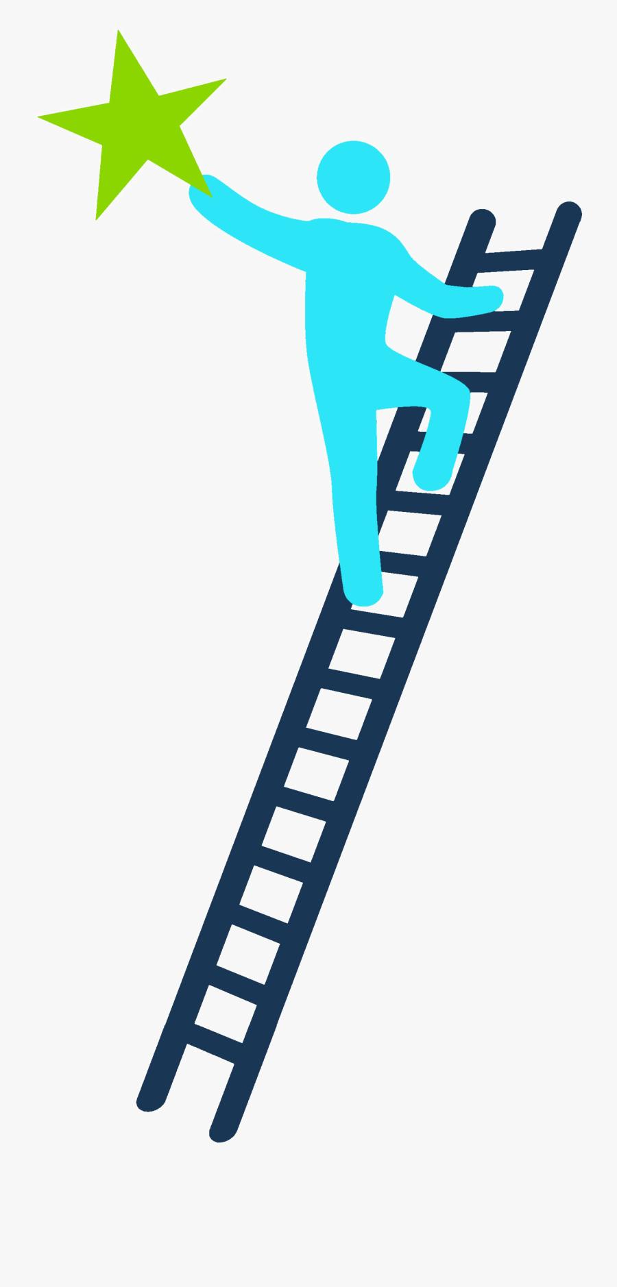 Ladder Of Success Png Transparent Image - Climbing The Ladder To Success Png, Transparent Clipart