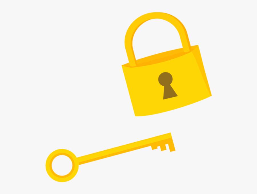 Transparent Lock And Key Clipart - Mlp Cutie Mark Key, Transparent Clipart