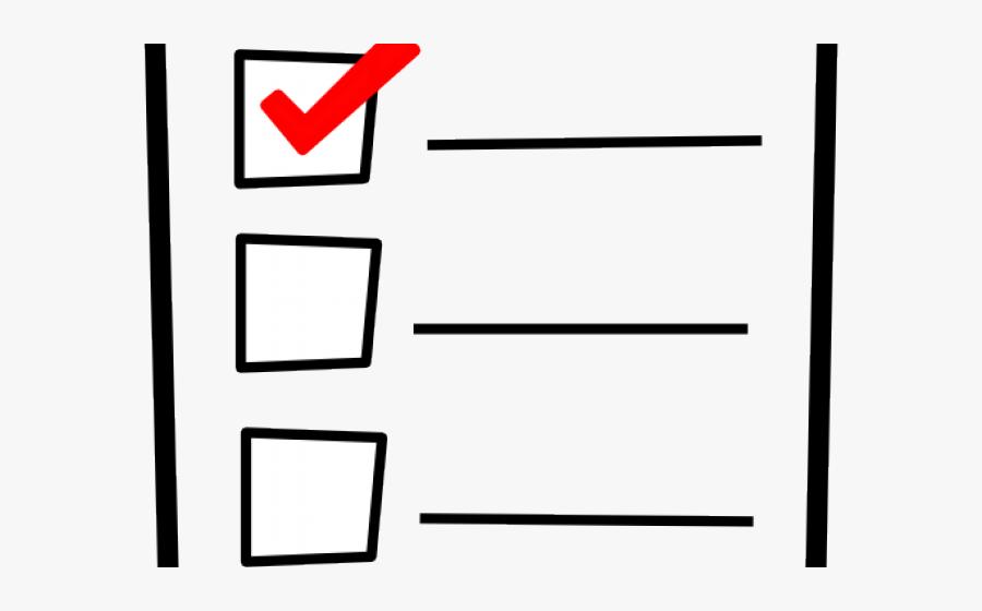 Cartoon Pictures Of A List, Transparent Clipart