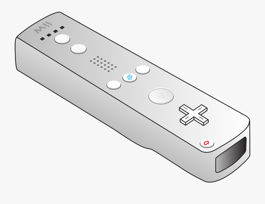 All Xbox Accessory,electronics Accessory,video Game - Wii Controller Clip Art, Transparent Clipart