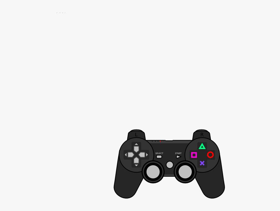 Controller Clip Art At Clker - Small Video Game Controller, Transparent Clipart