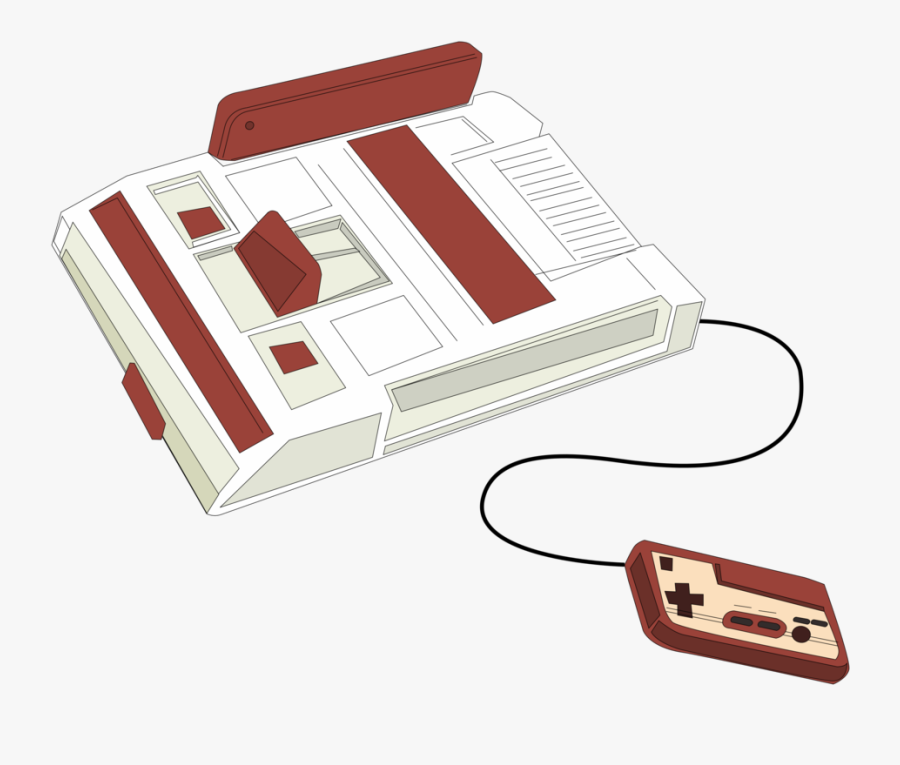 Gaming Clipart Video Game - Retro Console Clipart, Transparent Clipart