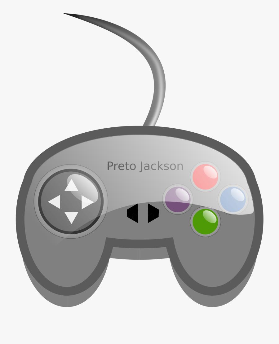 Game Clipart Video - Video Game Controller Clip Art, Transparent Clipart