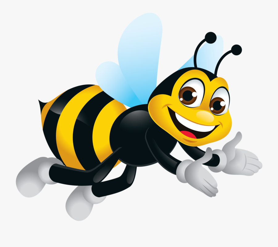 Bee Clipart, Bumble Bees, Views Album, Insects - Busy Bee In The Garden, Transparent Clipart