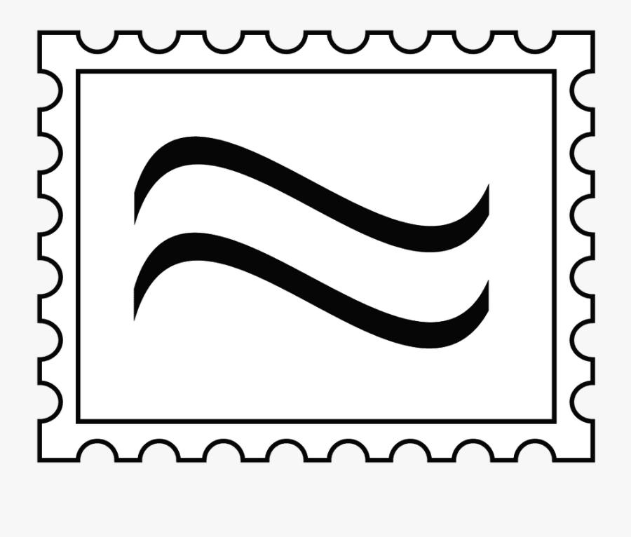 Envelope Clipart Stamped - Letter Stamp Clip, Transparent Clipart